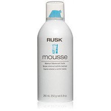 RUSK Designer Collection Mousse Maximum Volume and Control, 8.8 fl. oz.