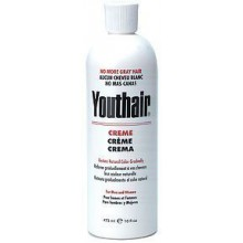 Youthair Creme for Men and Women Natural Color Gradually 16oz/473ml (Pack of 3)