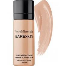 Bare Minerals BareSkin Pure Serum Foundation Broad Spectrum SPF 20 Bare Satin 06 1.0 oz