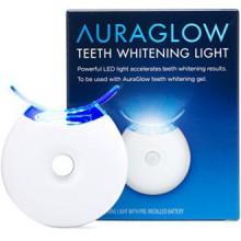 AuraGlow blanquear los dientes acelerador de luz, 5x más potente luz LED azul, blanquear los dientes más rápido