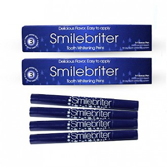 Smilebriter Teeth Whitening Gel Pens - 120 Day Supply