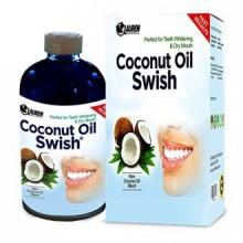 Huile de coco Tirer et rince-bouche: Excellent pour blanchiment des dents, la bouche sèche, et Detox Oral - aide à résoudre la m