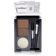 NYX Eyebrow Cake Powder, Dark Brown/Brown