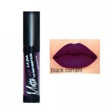 LA Fille Matte Pigment Lip Gloss 846 Noir Groseille