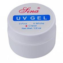 Nail Art UV Gel - SINA Nail Art UV Builder Gel Tips Glue Set Kit Art Extension Manicure£¨Transparent£
