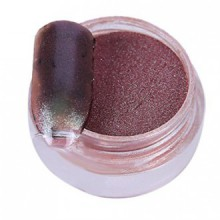 AMA(TM) 1g/ Box Sliver Nail Glitter Powder Shinning Nail Mirror Powder Makeup Art DIY Chrome Pigment (B)
