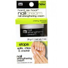 Hard As Hoof Nail Strengthening Cream with Cherry Almond Scent Nail Strengthener & Nail Growth Cream Prevents Splits, Chips,