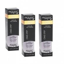 Prolana (Olan) Nail Optimizer Ultimate One-step Nail Strengthener .5 Oz (3 pieces)