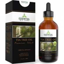 Tea Tree Oil - Therapeutic année 45% terpinen-4-ol (Australian) - 1 once liquide avec Verre Dropper - Premium Select de Essentia