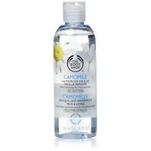 The Body Shop Camomile Waterproof Eye/Lip Make-Up Remover for Unisex, 5 Ounce