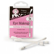 Hollywood Fashion Tape Eye Makeup Corrector & Remover 24 Pre-filled Cotton Swabs