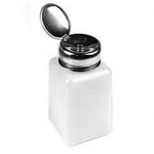 WAWO 200ml Nail Polish Remover Alcohol Liquid Press Pumping Dispenser Empty Bottle (5pcs)