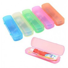 Elife Pack of 5 Large Size Toothbrush Tooth Paste Holder Case for Travel Use