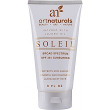 Art Naturals Bio SPF 30 Broad Spectrum Sunscreen - Infused huile de jojoba, 6 oz