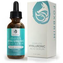 Hyaluronic Acid Serum - Pure Hyaluronic Acid Serum with Vitamin C - Natural Ingredients Green Tea, Vitamin E, Jojoba Oil &