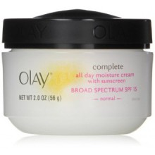 Olay Complete All Day UV Moisture Cream, SPF 15, Normal Skin, 2 Ounce (Pack of 3)