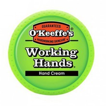 O'Keeffe's Working Hands Hand Cream, 3.4 oz., Jar