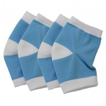 Makhry 2 Pairs Moisturising Silicone Gel Heel Socks for Dry Hard Cracked Skin Moisturizing Open Toe Comfy Recovery