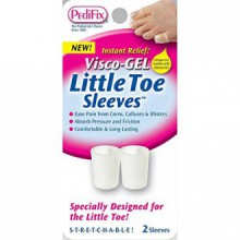 Visco Gel de Little Toe Sleeve (Pack de 2)