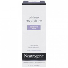 Neutrogena Oil-Free Moisture Sensitive Skin, 4 Fl. Oz