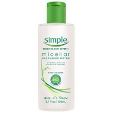 Simple Cleansing Water, Micellar - 6.7 oz