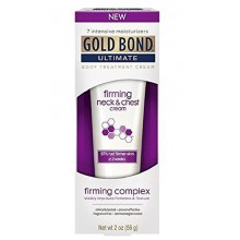 Gold Bond Ultimate Firming Neck & Chest Cream, 2 Oz (2 Pack)
