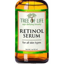ToLB Retinol Serum - 72% Organic - Clinical Strength Retinol Moisturizer - Anti Aging Anti Wrinkle Facial Serum - 1 ounce