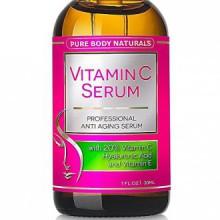 Vitamine C Sérum, Professional Care de la peau du visage topique aide à réparer les dommages Sun, Spots Fade âge, les cernes, L-