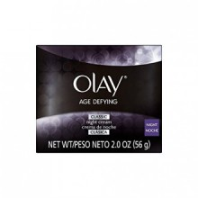 Olay Age Defying Classic Night Face Cream 2 Oz (Pack of 2)
