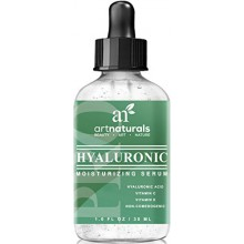 Art Naturals® Hyaluronic Acid Serum 1 oz -BEST Anti Aging Skin Care Product for Face Clinical Strength With Vitamin C