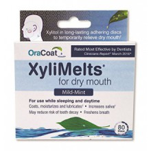 Orahealth Xylimelts menthes, boîtes 80-Count