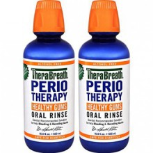 TheraBreath Dentiste PerioTherapy SAIN GOMMES Recommandé Rinçage Oral, 16,9 Ounce (Pack de 2)