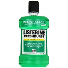 Listerine Antiseptic Mouthwash, Freshburst 1.5 Liter (Pack of 6)
