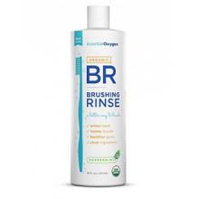 Oxygen Essentiel Plus Peppermint Brushing Rinse, 16 Ounce - 2 par cas.