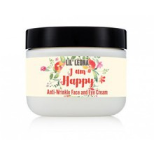 Lil Leona Anti-Aging Face And Eye Cream - Utilize On Crow's Feet, Dark Circles, Fine Lines, Puffy Eyes, Under-Eye, Smile