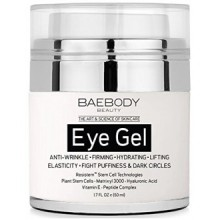 Baebody Eye Gel for Dark Circles, Puffiness, Wrinkles and Bags - The Most Effective Anti Aging Eye Gel for Under and Around