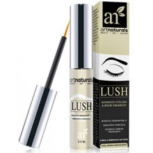 ArtNaturals Eyelash Growth Serum, Thicker, Longer Eyelashes and Eyebrows Enhancer with Lush, Dermatologist Tested Product,