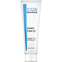 COS Naturals INSTANT FACE LIFT Tighten Firm And Nourish Natural & Organic Ingredients Anti Wrinkle Cream Remove Signs of