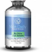 Skin Daily Skincare Solutions Natural Eye Cream Serum for Dark Circles