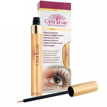C'est La Vie Eyelash and Eyebrown Growth and Enhancement Serum with Pentapeptide-17 and Proteins for Longer Fuller Lashes