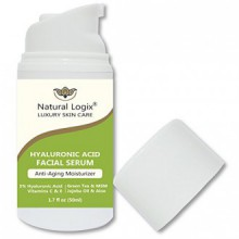 NEW PRODUCT: Hyaluronic Acid Anti-Aging Serum with Vitamins C+E - Intense Hydration + Moisturizer, Activates Collagen