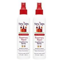 CONTES Rosemary Repel Prévention Lice Leave-In Conditionnement Vaporiser 8 oz, paquet de 2